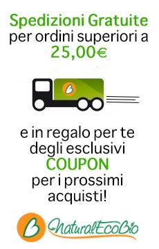 spedizioni gratis a 25 euro